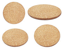 Compressed  brown cork board Royalty Free Stock Photography