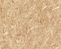 Compressed light brown chipboard. Vector wood Stock Photo