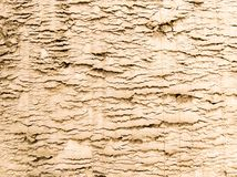 Compressed Sand Texture. On a construction site. Useful as background of bump texture for 3d rendering. Copy space stock photo