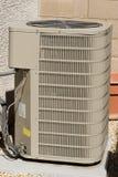 Compresseur de climatiseur Photos libres de droits