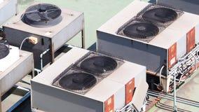 Compresseur de climatiseur Image stock