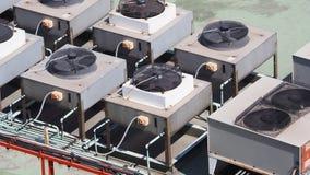 Compresseur de climatiseur Photographie stock libre de droits
