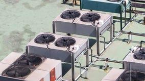 Compresseur de climatiseur Photographie stock