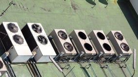 Compresseur de climatiseur Images libres de droits