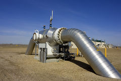 Compressie 4 van het gas Stock Afbeelding