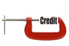 Compressing credit Stock Photos