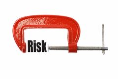 Compressing risk Stock Photography