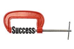 Compressing success Stock Photos