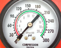 Compression testing tool Stock Photos