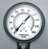 Compression testing tool. ( manoscope, manometer royalty free stock photography