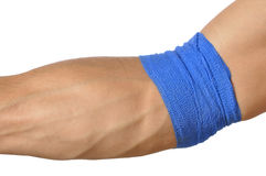 Compression wrap Royalty Free Stock Photography