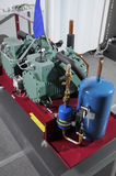 Compressor. New compressor unit of a modular design royalty free stock photography