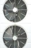 Compressor air condition. Circle of compressor air condition Royalty Free Stock Photo