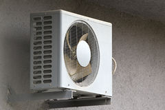 Compressor air condition. Circle of compressor air condition Royalty Free Stock Image