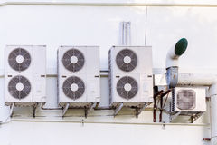 Compressor of air condition Stock Photography