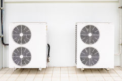 Compressor of air condition Royalty Free Stock Images