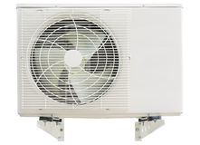 Compressor da condição do ar com braços de suspensão Imagens de Stock Royalty Free
