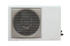 Compressor da condição do ar isolado imagem de stock