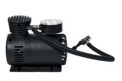 Compressor de ar do carro Fotografia de Stock Royalty Free