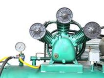 Compressor de ar industrial Fotos de Stock Royalty Free