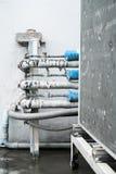 Compressor de ar resistido Imagem de Stock