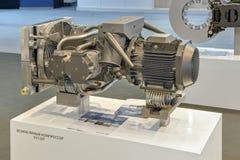 Compressor de gás livre de óleo Imagem de Stock Royalty Free