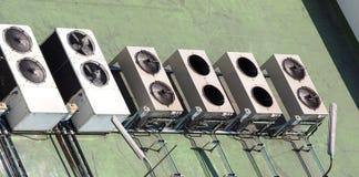 Compressor do condicionador de ar Fotografia de Stock