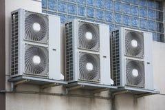 Compressor do condicionamento de ar fotografia de stock royalty free