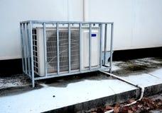 Compressor do condicionamento de ar Foto de Stock Royalty Free