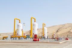 Compressor do refinator do petróleo e gás Imagens de Stock
