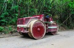 Compressor do solo antigo Foto de Stock Royalty Free