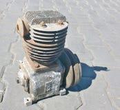 Compressor oude vrachtwagen IFA, Zuid-Bohemen royalty-vrije stock fotografie