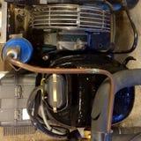 Compressor refrigerando Fotografia de Stock Royalty Free
