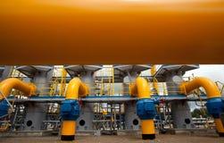 The compressor station Stock Image