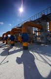 The compressor station Royalty Free Stock Photos