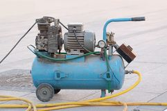 Compressor unit Royalty Free Stock Photography
