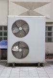 Compressor unit of air conditioner Royalty Free Stock Photos
