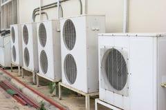 Compressor unit of air conditioner Stock Image