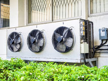 Compressor unit of air conditioner Royalty Free Stock Photography