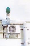 Compressor van luchtvoorwaarde royalty-vrije stock afbeelding