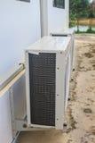 Compressor van luchtvoorwaarde stock foto's
