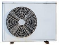Compressore d'aria del metallo bianco Immagine Stock Libera da Diritti