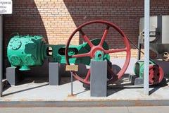Compressore d'aria per la pulizia e l'eliminazione dell'inceppo dell'orzo Fotografia Stock Libera da Diritti