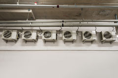 Compressores de ar Foto de Stock