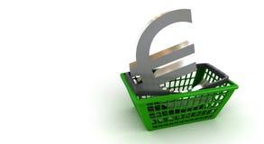 Compri gli euro Immagini Stock Libere da Diritti