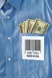 Compri l'americano Fotografie Stock Libere da Diritti