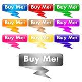 Comprimi bottoni Immagine Stock