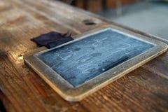 Comprimé de vieille école Photographie stock