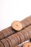 Comprimés de noix de coco pour l'élevage Photo stock
