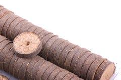 Comprimés de noix de coco pour l'élevage Image libre de droits